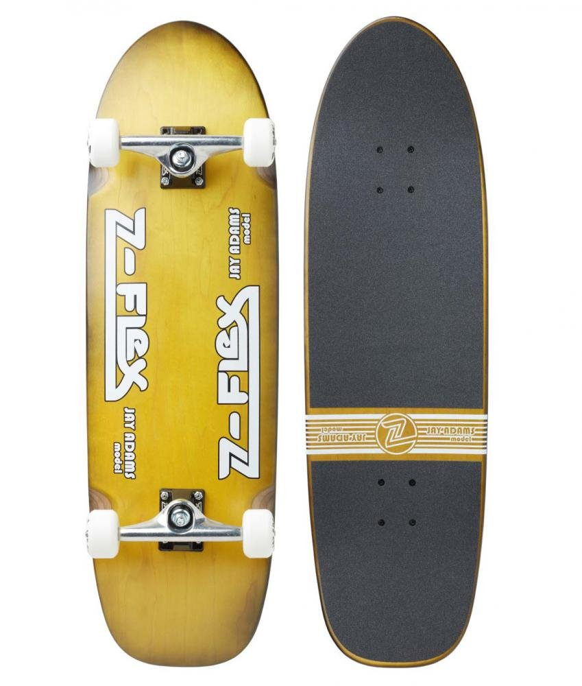 "Z-Flex - Jay Adams 9.50"" Sunburst - Longboard Cruiser"
