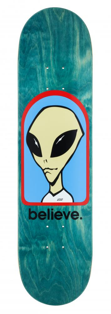 Alien Workshop Logo Deck - Believe - skate deska