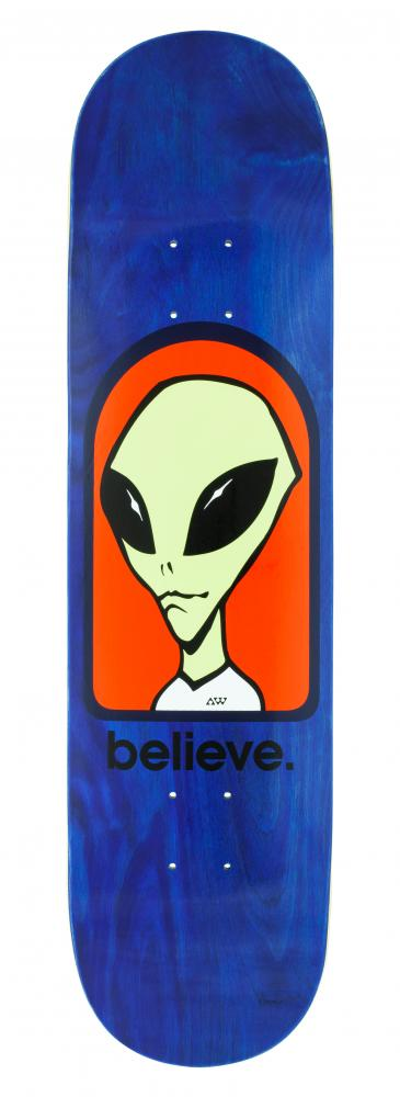 Alien Workshop Logo Deck - Believe blue - skate deska