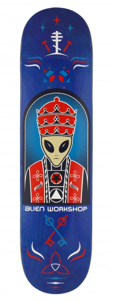 Alien Workshop Logo Deck - Priest - skate deska