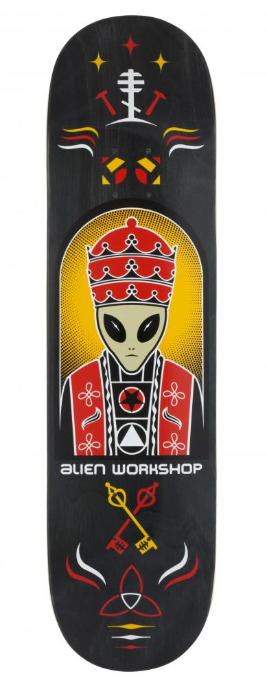 Alien Workshop Logo Deck - Priest Black - skate deska
