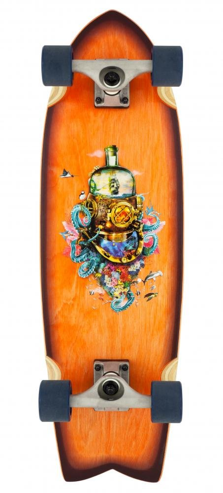 "D-Street - Cruiser Nautical 29"" - longboard"