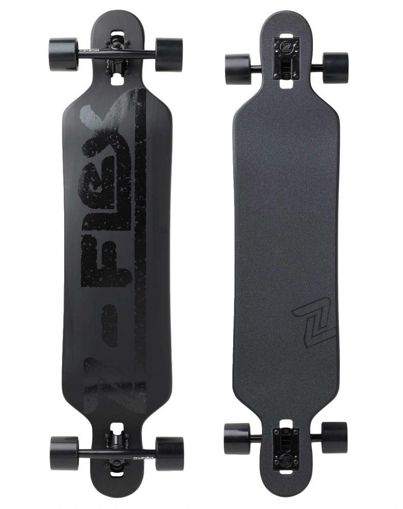 "Z-Flex - Drop Thru 41"" Coal Dust - longboard"