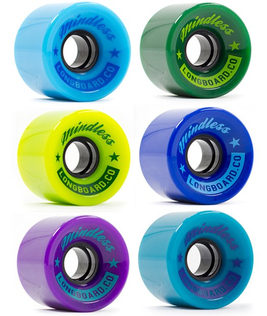 Mindless - Cruiser Wheels 60 x 44 mm 83a (sada 4 ks)