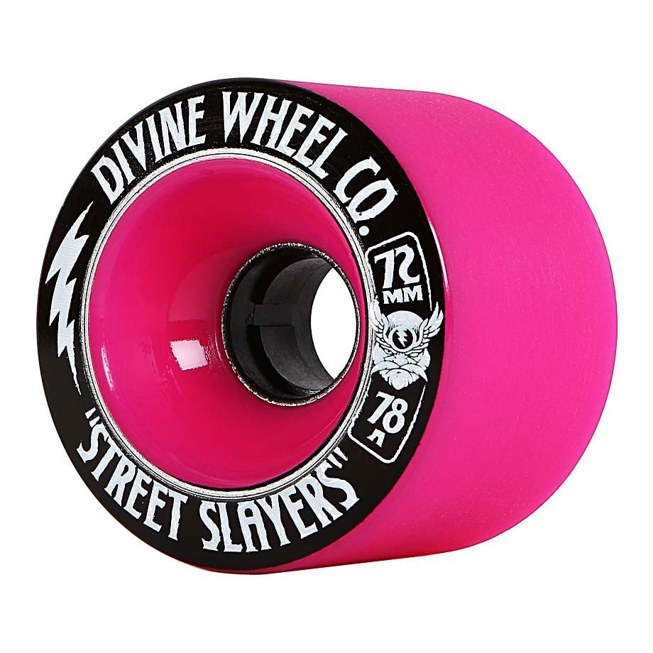 Divine - Street Slayers 72mm/78A Hot Pink (sada 4 ks)