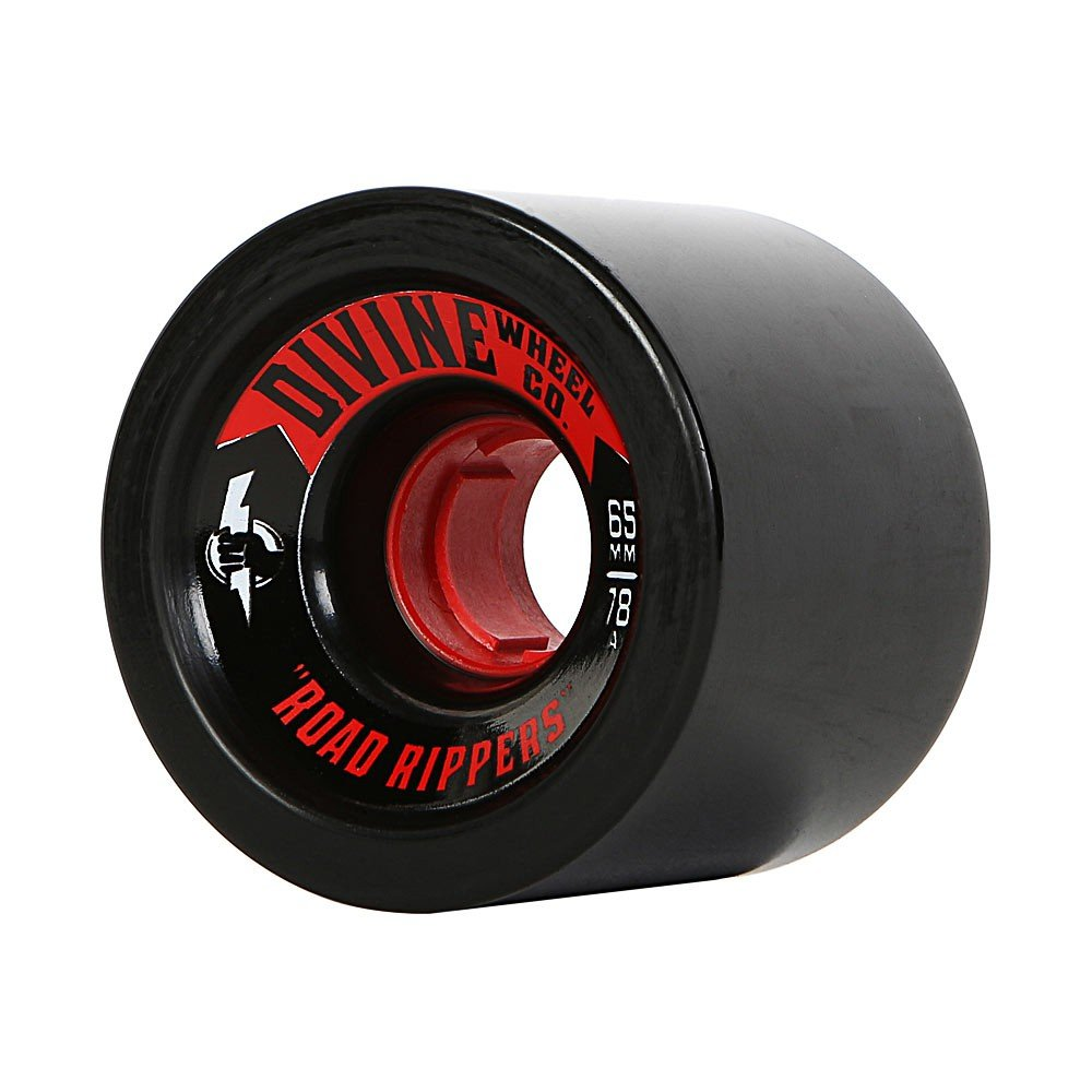 Divine - Road Rippers 65mm/78A Black (sada 4 ks)