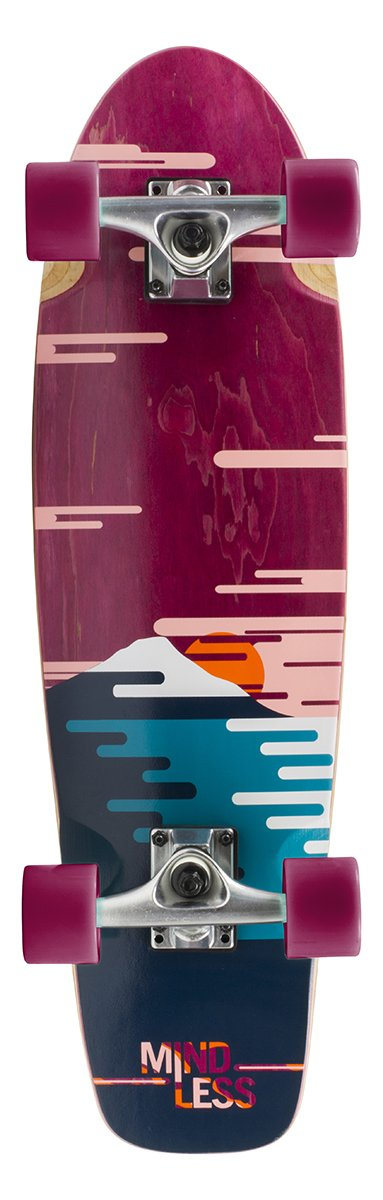 "Mindless - Sunset Cruiser 28"" Burgundy - longboard"