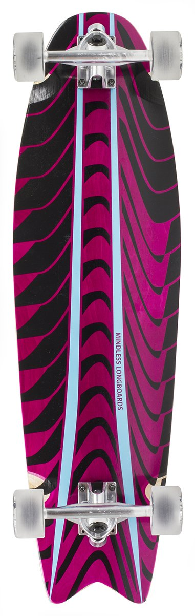 "Mindless - Rogue Swallow Tail Pink 34""- longboard"