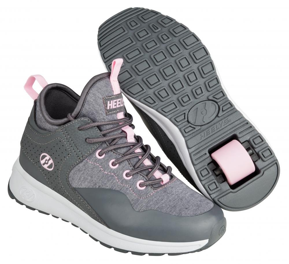 Heelys - Piper Charcoal/Light Pink - koloboty