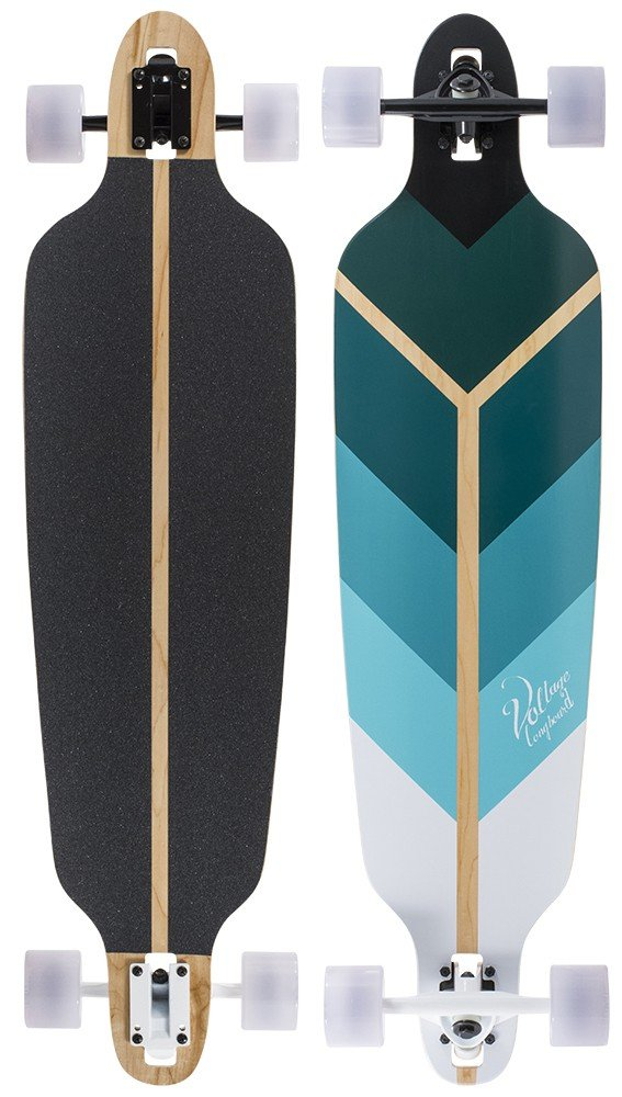"Voltage - Directional DT V2 40"" Blue longboard"