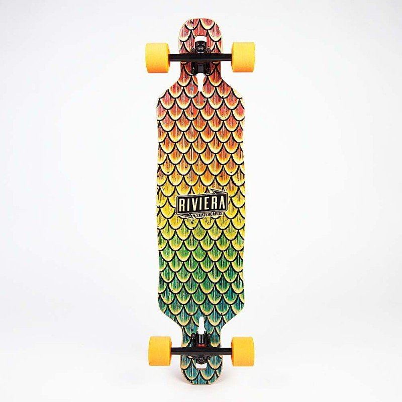 Riviera Beta Fish Mini Drop Through -  longboard