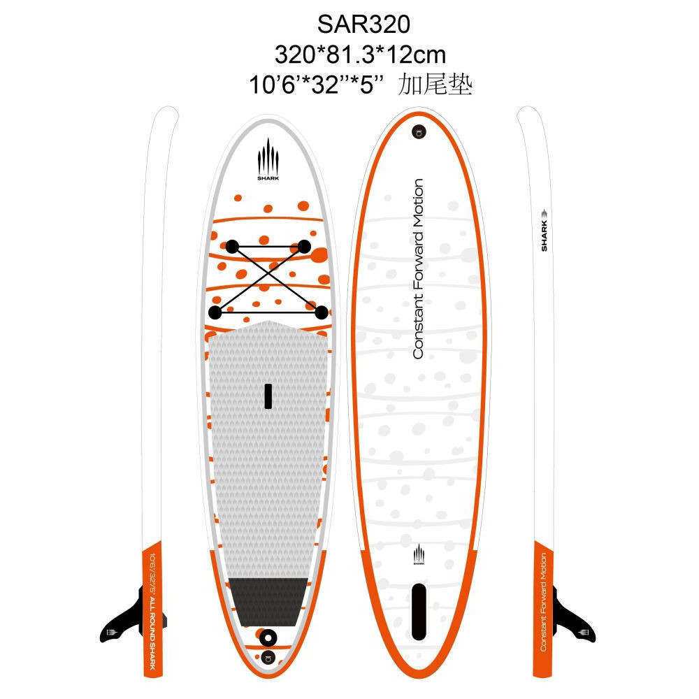PADDLEBOARD SHARK ALLROUND RIDE 10,6-32