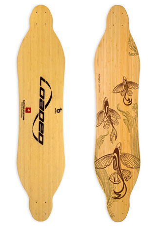 Loaded Vanguard longboard deska