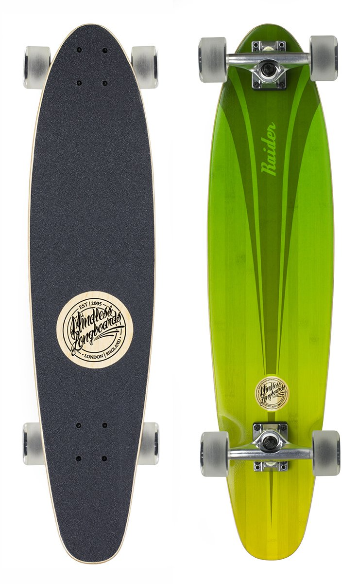 "Mindless - Raider 34"" V4 Green longboard"