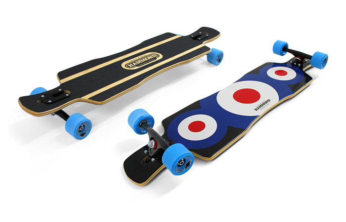 Hammond Longboards - Free Ride Star longboard