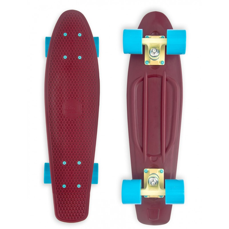 Baby Miller 22 - Old is Cool Wine Red skateboard