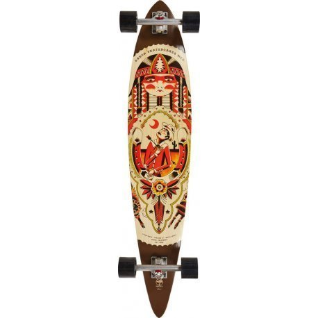 Arbor Timeless GT Artist Collection 'Kyler Martz'- longboard