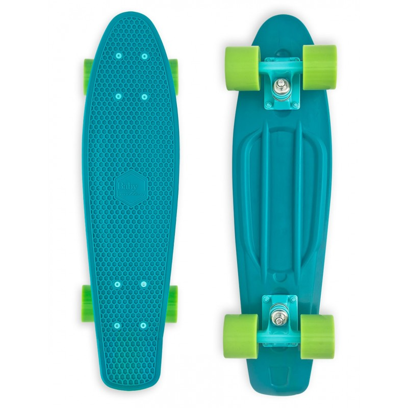 Baby Miller 22 - Old is Cool Ocean Blue skateboard