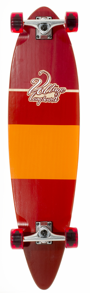 Voltage - Stubby 38 Red longboard